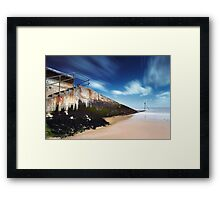 Slippery Slope Framed Print