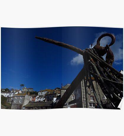The Anchor, Port Isaac, Cornwall Poster