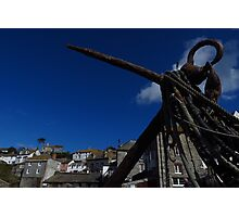 The Anchor, Port Isaac, Cornwall Photographic Print