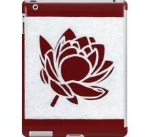 Red Lotus iPad Case/Skin
