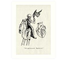 """Frightened Rabbit"" Art Print"