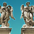 The Angels of Ponte Sant'Angelo by Tom Mostert