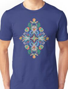 Boho Navy and Brights Unisex T-Shirt