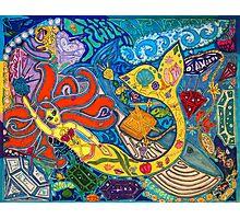 'Secret Treasures of the Fateful Mermaid' ~ Original Pieces Art™ Photographic Print