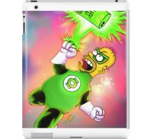 Green Homie latern iPad Case/Skin
