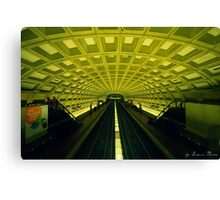 Metro Station Canvas Print