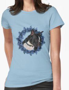 Boston Terrier Floral Wreath Shirt T-Shirt