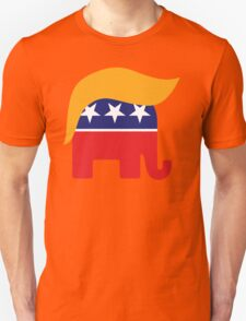Donald Trump Hair GOP Elephant Logo ©TrumpCentral.org T-Shirt