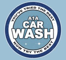 Vintage A1A Car Wash by colorhouse