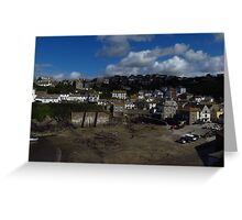 View From Doc Martin's Surgery Greeting Card