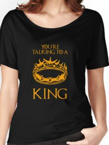 Game of Thrones: The Crown Women's Relaxed Fit T-Shirt