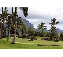 Poipu Bay Golf Course, Kauai, Hawaii Photographic Print