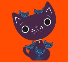 Mum and Kittens Kids Tee