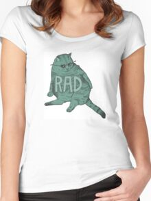 Rad Cat Women's Fitted Scoop T-Shirt