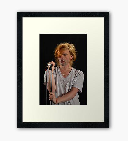 Singing Framed Print