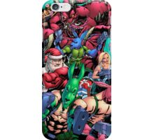 Salty Roos vs. Krampus iPhone Case/Skin