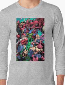 Salty Roos vs. Krampus Long Sleeve T-Shirt