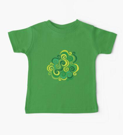 Swirly Emblem Baby Tee