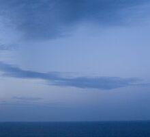Lighthouse at sunset - panorama by lamat