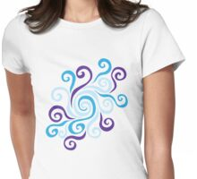 Swirl Pool Womens Fitted T-Shirt