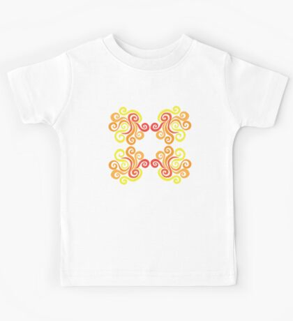 Swirly Fire Kids Tee