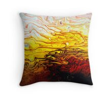 Acrylic Fluidity Throw Pillow