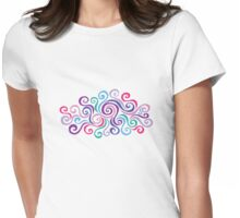 Swirlycules Womens Fitted T-Shirt