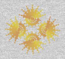 Sun Star Pattern Baby Tee