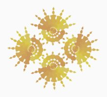Sun Star Pattern by Wealie