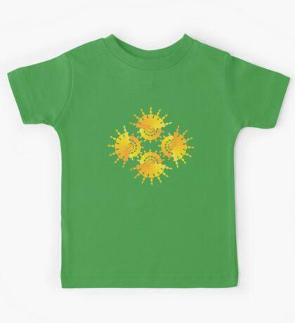 Sun Star Pattern Kids Tee
