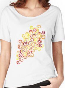 Firery Curlicules Women's Relaxed Fit T-Shirt