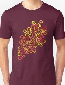 Firery Curlicules Unisex T-Shirt