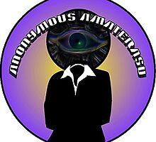 Anonymous Amaterasu Logo by AmaterasuSolar