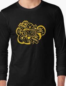 Golden Emblem Long Sleeve T-Shirt
