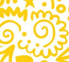 Golden Emblem Sticker