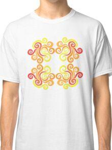 Firery Swirls Classic T-Shirt