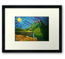Mountain Range Framed Print