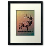 Majestic Stag Framed Print