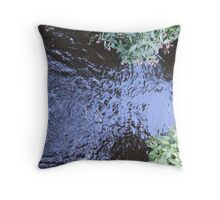 Blue Treacle Throw Pillow