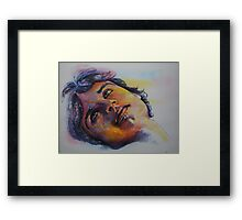 Portraits of Tom Welling, Clark Kent of Smallville,featured in Virtual Museum Framed Print