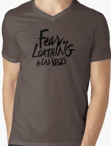 Fear and Loathing in Las Vegas - BLACK  Mens V-Neck T-Shirt