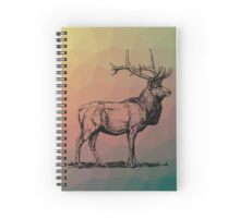 Majestic Stag Spiral Notebook