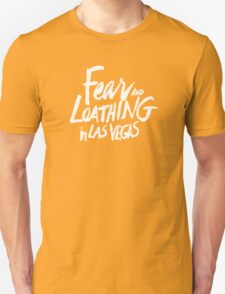 Fear and Loathing in Las Vegas - White Unisex T-Shirt