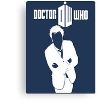 TOP SELLING DOCTOR WHO WHITE Canvas Print