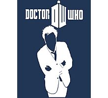 TOP SELLING DOCTOR WHO WHITE Photographic Print