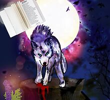 Wolfsbane (Art and Writing) by Charldia
