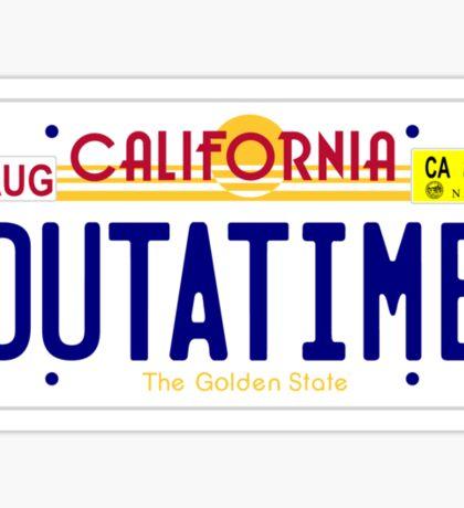 OUTATIME Sticker
