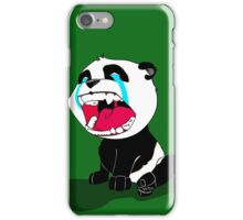 Crying Panda Cub iPhone Case/Skin