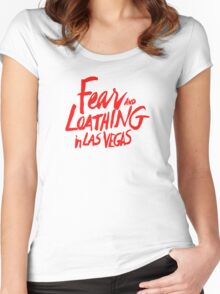 Fear and Loathing in Las Vegas - RED Women's Fitted Scoop T-Shirt