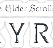 The Elder Scrolls V - Skyrim Sticker